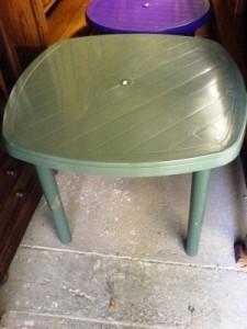 Új Műanyag kerti asztal