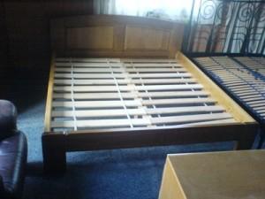 Bük Ágykeret ágy rácsal