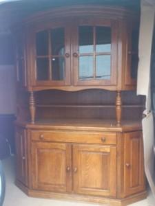 30224.Tölgyfa tálaló szekrény