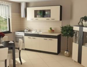 D/K9 LED világítású konyha szekrény