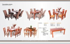 160 étermi asztal