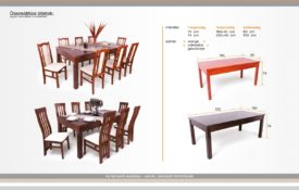 Nagy étermi asztal