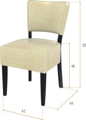 D/É31 szék méret