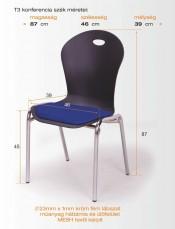 D/T3 szék_meret