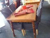50334. Konyhai bővíthető asztal.