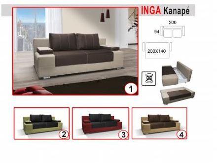 M/406. inga kanapé