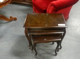 50994. Barokk kisasztalka szett.