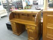 51001. Holland íróasztal komód, nagy írófelülettel.