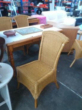 51079. Rattan kereti székek.