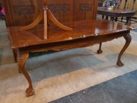 60240. Magas fényű Barokk stílusú Dohányzó asztal.