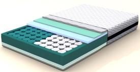 KM2. gerinc alátámasztásos matrac