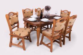8 személyes asztal