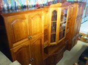 61057. Tölgyfa szekrénysor