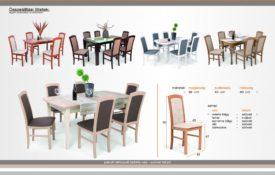 D/SZÉ18. Étkező szék szövet, műbőr