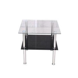 D/D01.  Üveg dohányzó asztal.