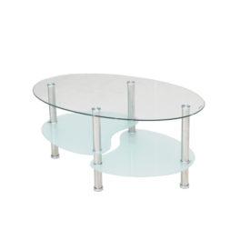 D/D03.  Ovális dohányzó asztal.