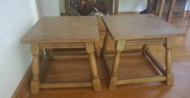 R81039.  Kis asztalkák.