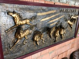 3D kép lovak