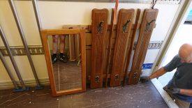 Rusztikus előszoba bútor