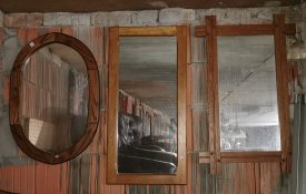 Fakeretes fali tükrök.