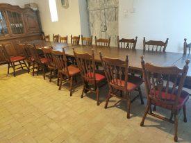Étermi székek