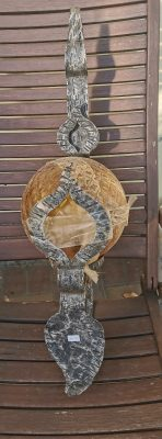 kovácsoltvas falikar