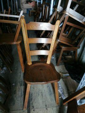 Fa konyha szék.