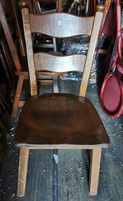 Holland fa ülőlapos szék.